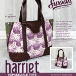 Harriet expandable tote Swoom
