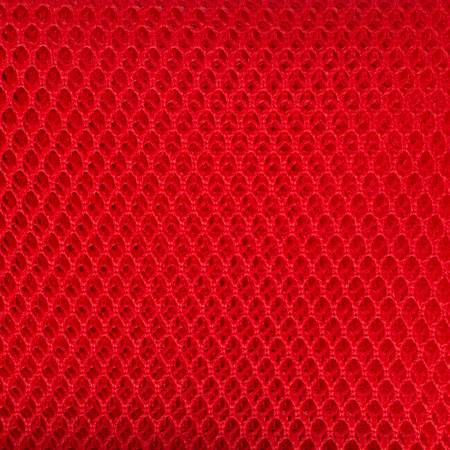 Lite Weight Polyester Mesh Fabric By Annie Atomic Red By