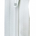 ZIP18-501 white zipper