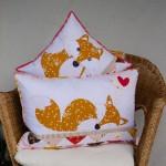 CT017 fox cushions clair turpin designs
