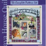 JHQ198 zoo it yourself java house quilts