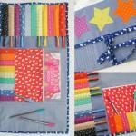 SA009 rainbow drawing folder Sew Along
