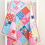 TR026 Crochet Trim Blanket Tied with a Ribbon