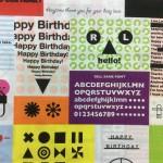 message card - multi web