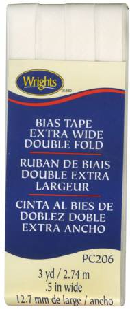 Citron Wrights Double Fold Bias Tape 1//2 by 3-Yard
