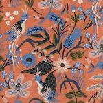 8010-22-folk-birds-peach-cotton-linen-canvas