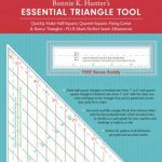 20357 Fast2cut essetial triangle tool bonnie hunter