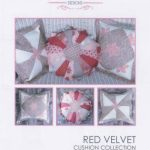 PWBRVCC red velvet cushion collection