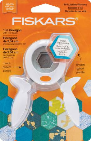 hexagon paper punch Fiskars paper trimmer replacement blades 2/pkg-straight squeeze punch medium - hexagon shop overstockcom and find the best online deals on everything for.