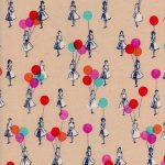 0045-2 Jubilee Balloons in peach