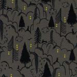 2047-1 Sleep Tight Bunny Hill in grey