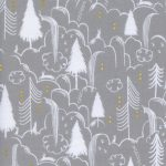 2047-2 Sleep Tight Bunny Hill in Neutral Metallic