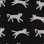 5115-1 Snow leopard in black