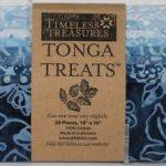 SHORT-INDIGO ten inch tonga batik squares