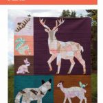 VC003 Forest Abstractions Quilt violet craft