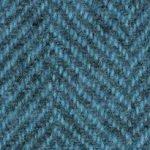 WDWHB-2118 wool fq herringbone blue topaz