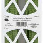 28602-55 polypro webbing peridot