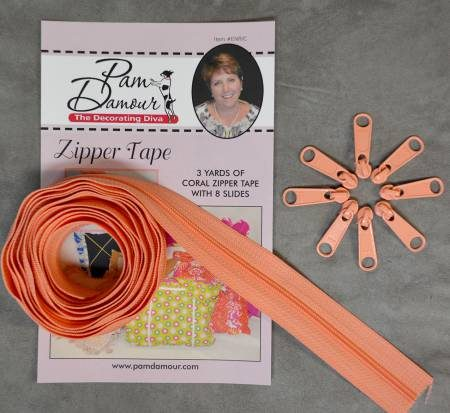 Decorating Diva Zipper Tape