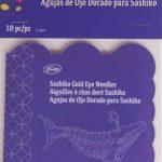 40091 Sashiko gold Eye needles