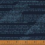 42706-6 Text on dark blue