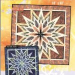 JNQ97P Feathered Star Wall Hanging