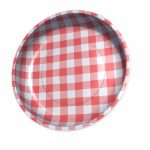 STMB-4989 Sew Together pin bowl gingham red