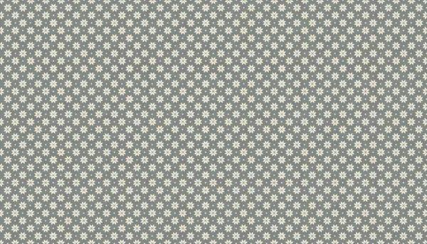 Scandi Christmas 2017 Small Cream Snowflakes On Grey Sew Hot