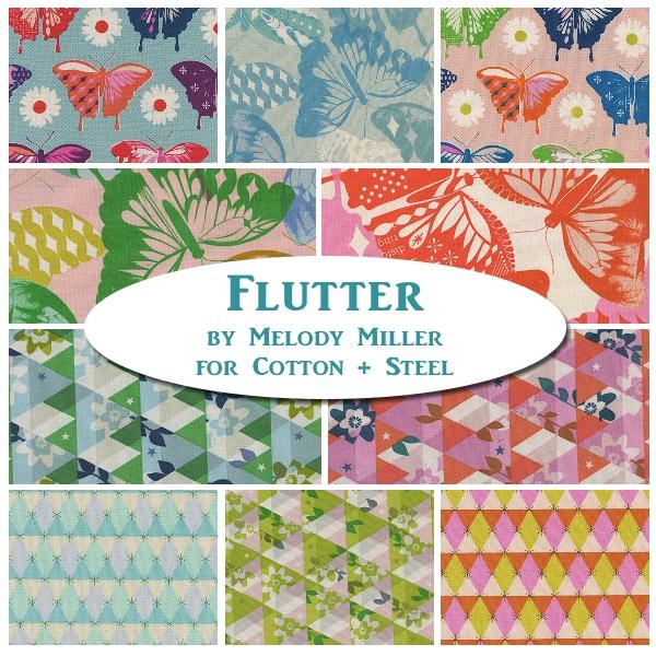 Flutter Fat Quarter Bundle