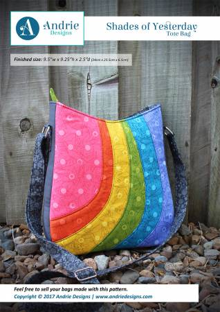 Shades of Yesterday Tote Bag | Sew Hot