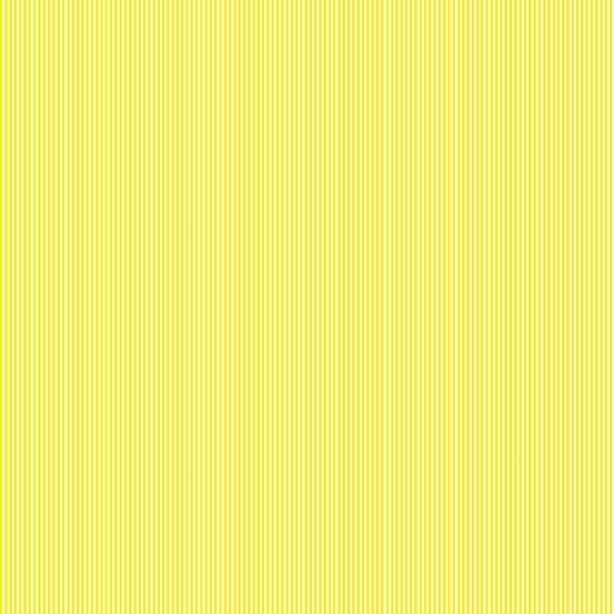 Pinstripe Cotton Fabric  Fat Quarter Makower Yellow